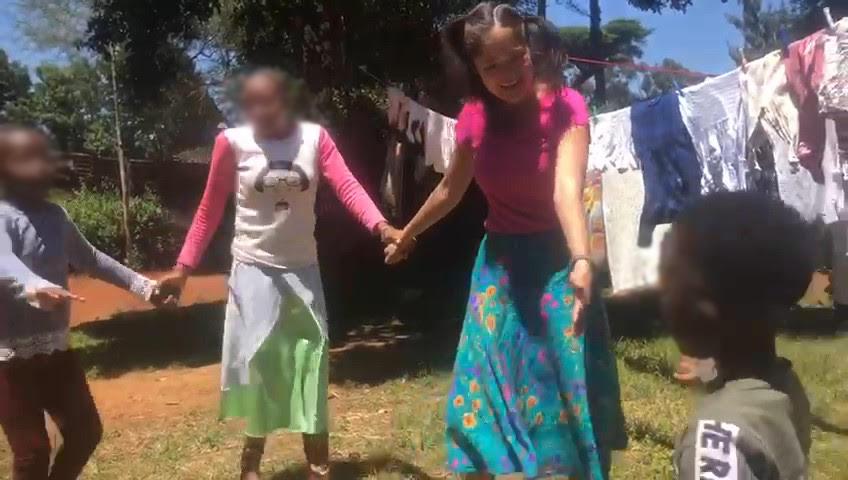 gabrianne ivy dancing kenya