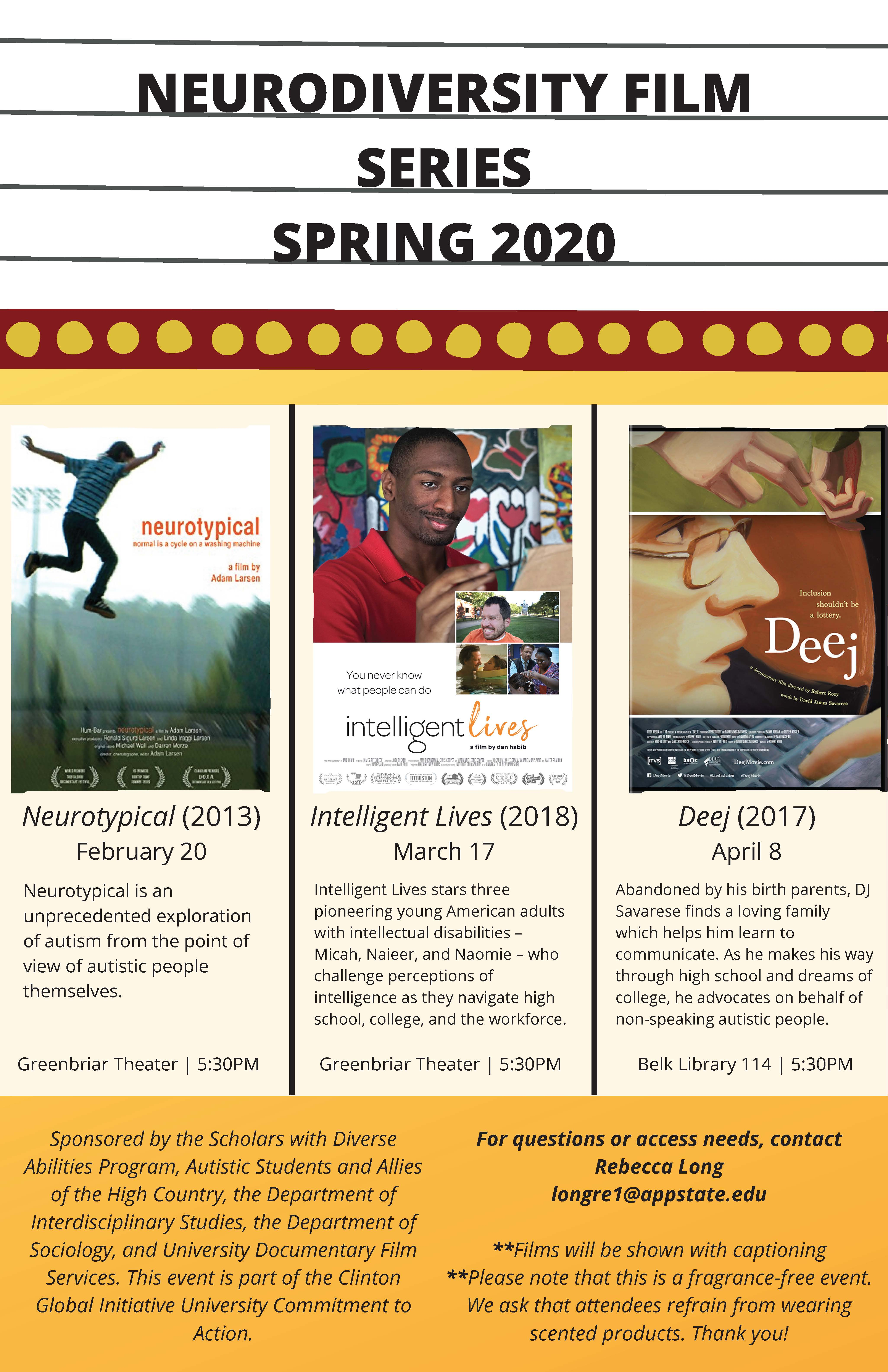 neurodiversity film series