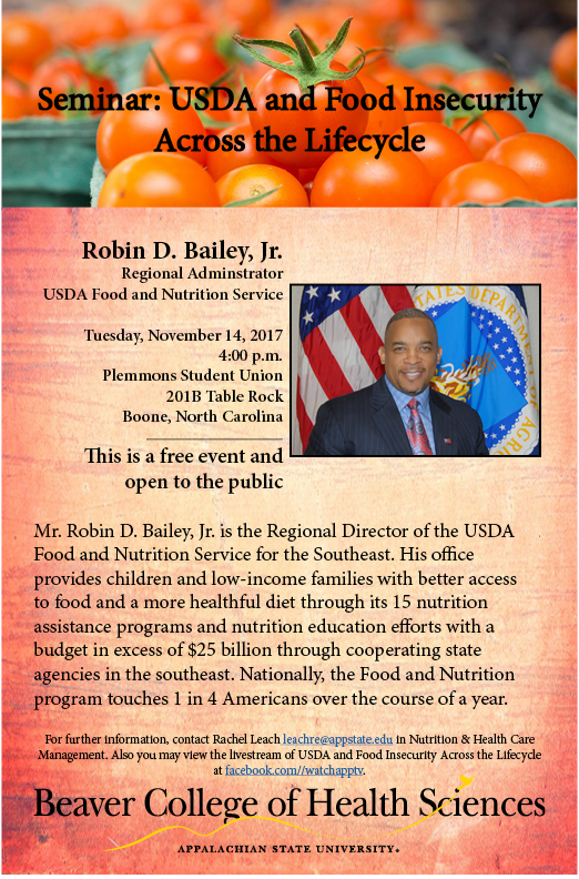 Seminar Usda And Food Insecurity Across The Lifecycle The Honors